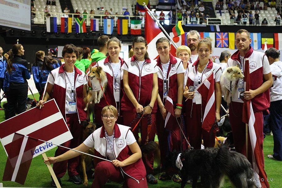 Latvian team